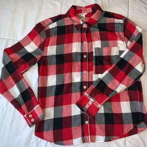 Forever 21 | Long Sleeve Button Down Plaid Shirt S